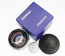 Voigtlander 50mm f1.5 Nokton  #4675551 .......... MINT w/Box,Caps