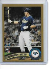 2011 TOPPS UPDATE ANTHONY RIZZO RC # US 55 GOLD ROOKIE CARD # /2011 CUBS