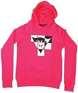 Dainese Andy Lady Ladies Fuchsia Pink Black White Hoodie Jumper