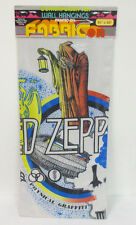 LED ZEPPELIN WALL HANGING POLYESTER PRINTED FABRIC ROCK & ROLL VINTAGE RETRO VTG