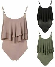 Unbranded Women's Fitted Strappy, Spaghetti Strap Body Tops & Shirts