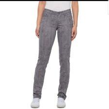 "prAna ""Kara"" Moonrock Petal Low Rise Gray Jeans Size 16 / 34 Organic Cotton"