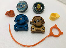 Beyblade Metal Lot of 2 With Plastic Launchers Accessories