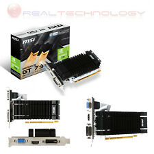MSI Scheda Video 2 GB GDDR3 DVI/HDMI/VGA N730K-2GD3H/LP GeForce GT 730