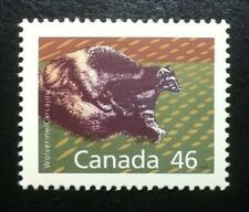 Canada #1172c PP 12.5x13.1 MNH, Wolverine Booklet Stamp 1990