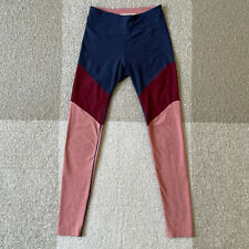 Outdoor Voices Womens Leggings Size Small Colorblock Spring Yoga Active Gym
