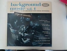 Capitol Records Background Music Vol. 4 #H376