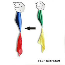 Creative Color Changing Silk Scarf For Magic Trick Streets Tools Funny Toys