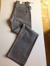 NWT $565 D&G Dolce& Gabbana Mens Pants Jeans Gray 50 Euro ( 34 US ) Italy