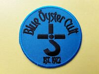 Blue Oyster Cult Patch Embroidered Iron On Or Sew On Badge