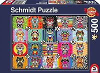 Tantan and Momo:  Schmidt Tantan & Momo Jigsaw Puzzle 500 pieces 58215