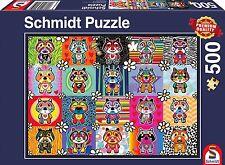 Tantan and Momo:  Schmidt Tantan & Momo Jigsaw Puzzle 500 pieces 58215