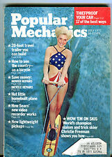 Popular Mechanics MAgazine July 1972 Wow 'Em On Skis EX 033116jhe