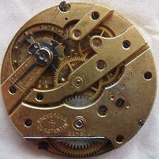 Vacheron Constantin Pocket watch movement stem to 3 center wheel broken.