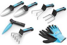 Cellfast Garden Tool Set 2x Shovel Rake Fork Gloves Cultivator Planting Pin UK!