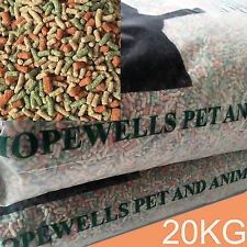 2 x 10Kg Mixed Koi Carp Pond Sticks Premium Growth Colour Enhancing 30% Protein
