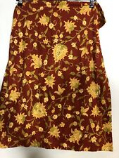Pottery Barn Pillow Shams colette Standard Red Pair Palampore Yellow vines