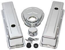 SB Chevy Tall Chrome Engine Dress Up Kit 283 305 327 350 400 1959 - 86 V8