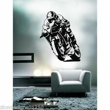MAX BIAGGI  WALL ART 01 motorcycle racer decal graphic adhesive UNIQUE