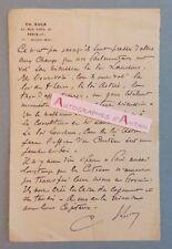 L.A.S CH. KULA rue Viete à Paris - Signataire à identifier - CITROEN - Lettre