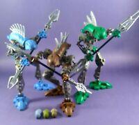 6x LEGO Bionicle Figurine Head Mask Blue Head Rahkshi Guurahk 8590 44807