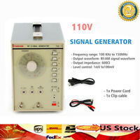 110V TSG-17 100kHz-150MHZ High Frequency RF/AM Radio Frequency Signal Generator