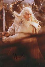 "Ian McKellen ""Herr der Ringe"" Autogramm signed 20x30 cm Bild"