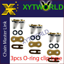 JLC-520H-O RING Master Joint Joining Link CLIP TYPE FOR #520 CHAIN Motor cycle