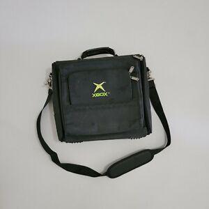 Original Microsoft Xbox Console System Travel Bag Vtg Vintage Carrying Case