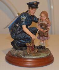 "Blue Hats of Bravery ""Teddys Rescue"" Vanmark Figurine 1997"
