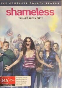 Shameless : Season 4 (DVD, 2014, 3-Disc Set)   BRAND NEW