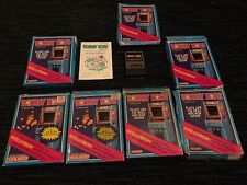 LOT OF 7 DONKEY KONG INTELLIVISION GAMES, WITH ORIGINAL BOXES & MANUALS