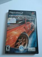 Need for Speed: Underground Sony PlayStation 2, 2003 TESTED & COMPLETE