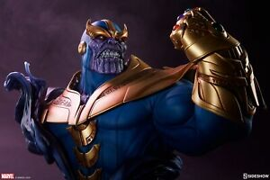 Sideshow Marvel Thanos Bust - Avengers, Infinity Gauntlet, Death