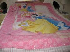 Disney Princess Quilt Cover & Pillow Case Set-Pre Owned Good condition
