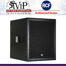 "RCF SUB 8004-AS 18"" ACTIVE HIGH POWER SUBWOOFER 2500W Powered PRO Club / DJ Sub."