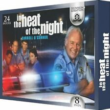 IN THE HEAT OF THE NIGHT 8 DVD BOX SET 24 Hour TELEVISION MARATHON Brand New