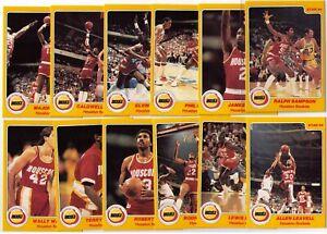 1983-84 Star Company HOUSTON ROCKETS team set (RALPH SAMPSON )