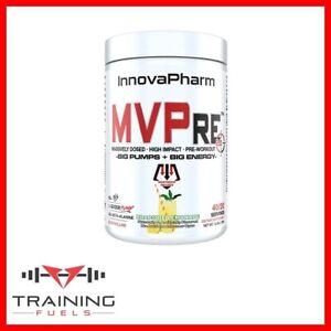 InnovaPharm MVPre 2.0 Pre-Workout 356g 40/20 Servings Energy Pump