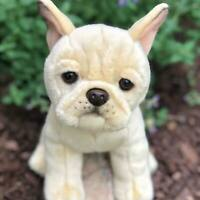 Auswella Plush Ziggy Our Creme Colored French Bulldog- Plush Stuffed Frenchie