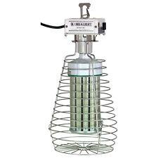 Hang-A-Light 1110150LED 150W LED 16,500 Lumens, Silver/Black