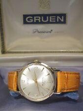 Vintage Gruen Precision  Autowind Automatik Herrenuhr 65 Jewels  incl. Box