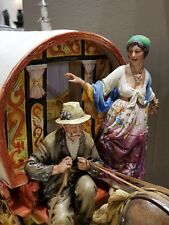 "Capodimonte porcelain. Tank of the Gypsies "" Formidable creation"