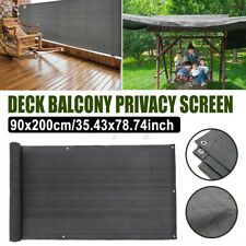 Garden Balcony Fence Net Wall Privacy Outdoor Fencing Panel UV Protection 2M