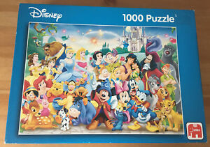 Jumbo Disney Mickey Mouse & Friends Classic Characters 1000 Piece Jigsaw Puzzle