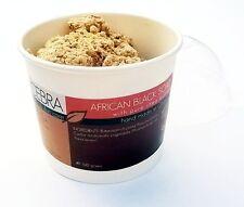 CEBRA RAW africano nero di karité allata SAPONE Chunk Ghana palma e l'olio di cocco libero