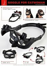 TOW FACE Female Black Goggle Eyeshade 1/6  Fit F Hot Toys Catwoman Head Carving