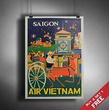 A3 Grandes Vietnam Cartel Retro Vintage De Viajes Pared Arte Hogar Decoración Foto