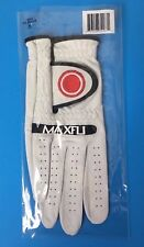 Maxfli Pga Tour Golf Glove Size Small Right Hand White Leather
