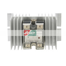 SSR-10DD Single Phase Solid State Relay + Heat Sink DC 3-32V / DC 12-220V